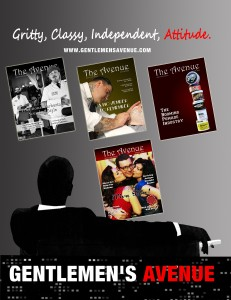 mad men city magazine covers ad