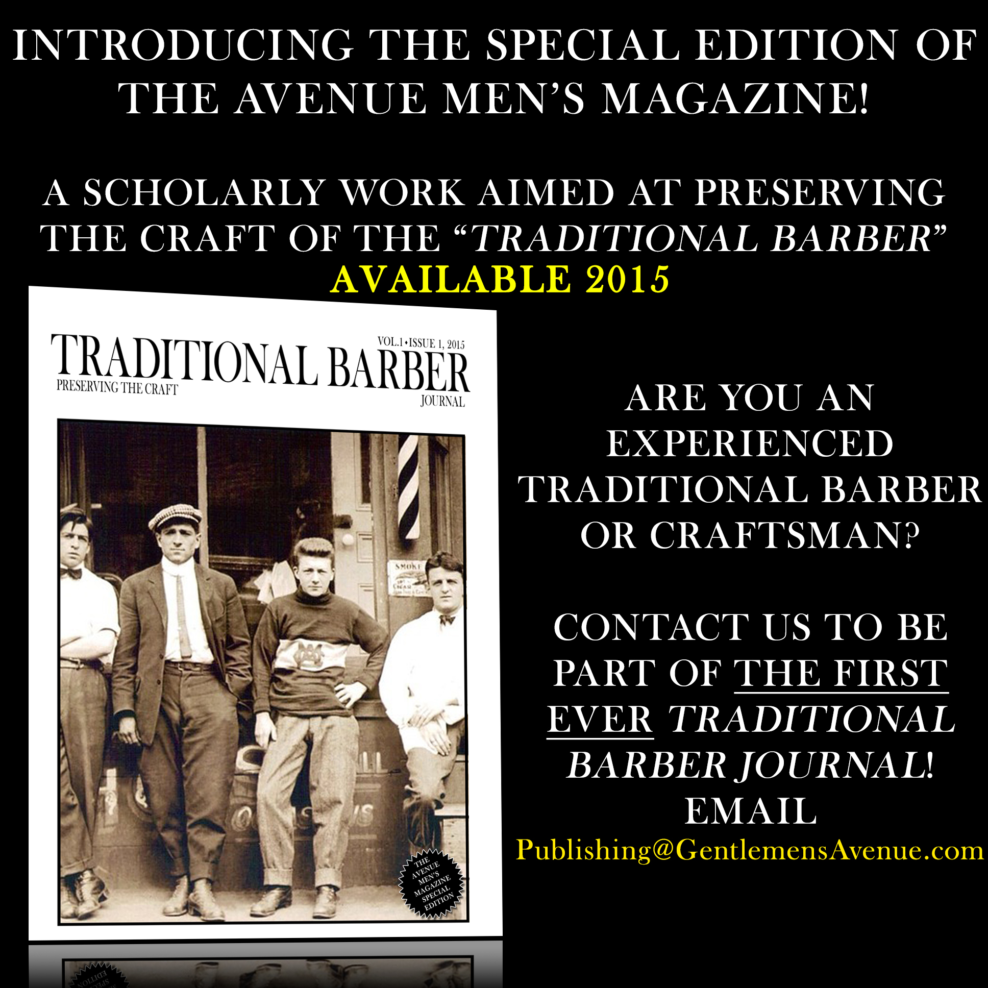 traditional barber journal