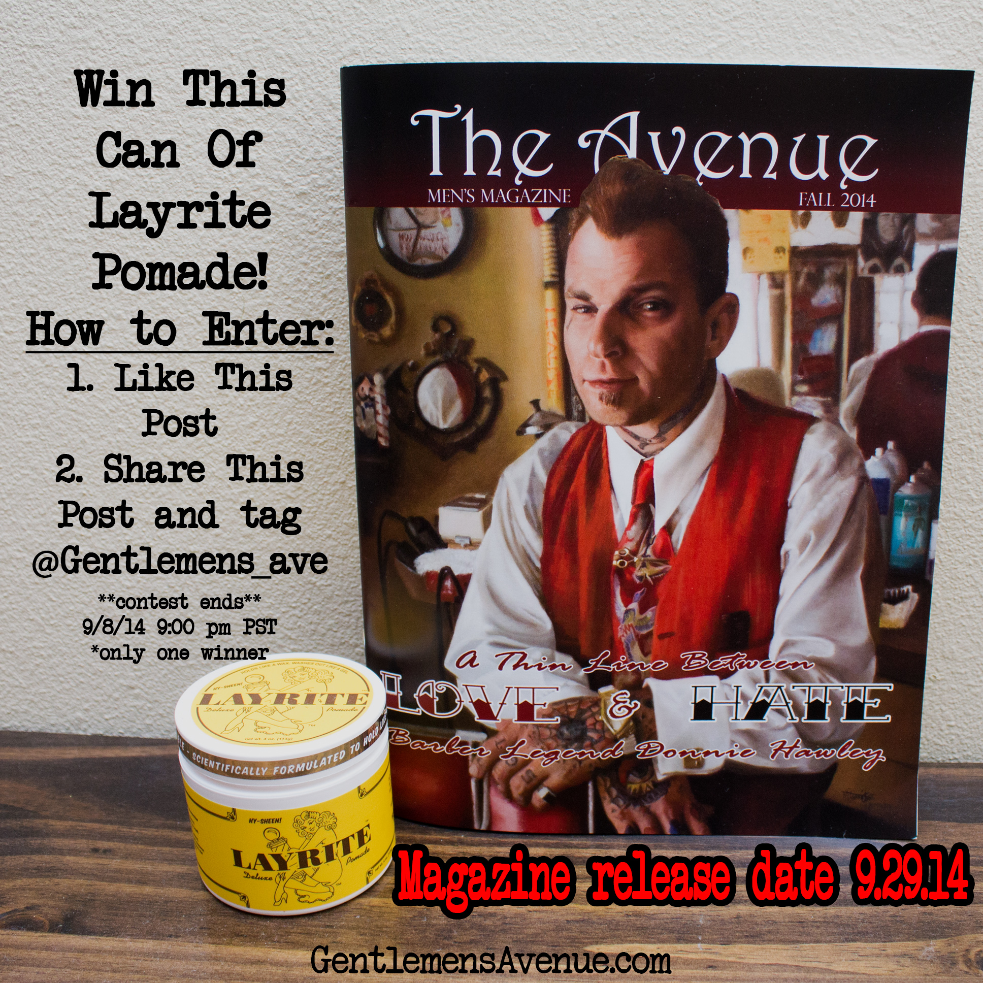 Layrite giveaway #1 Fall 2014