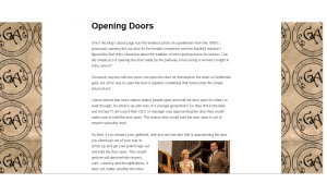 opening doors screen shot