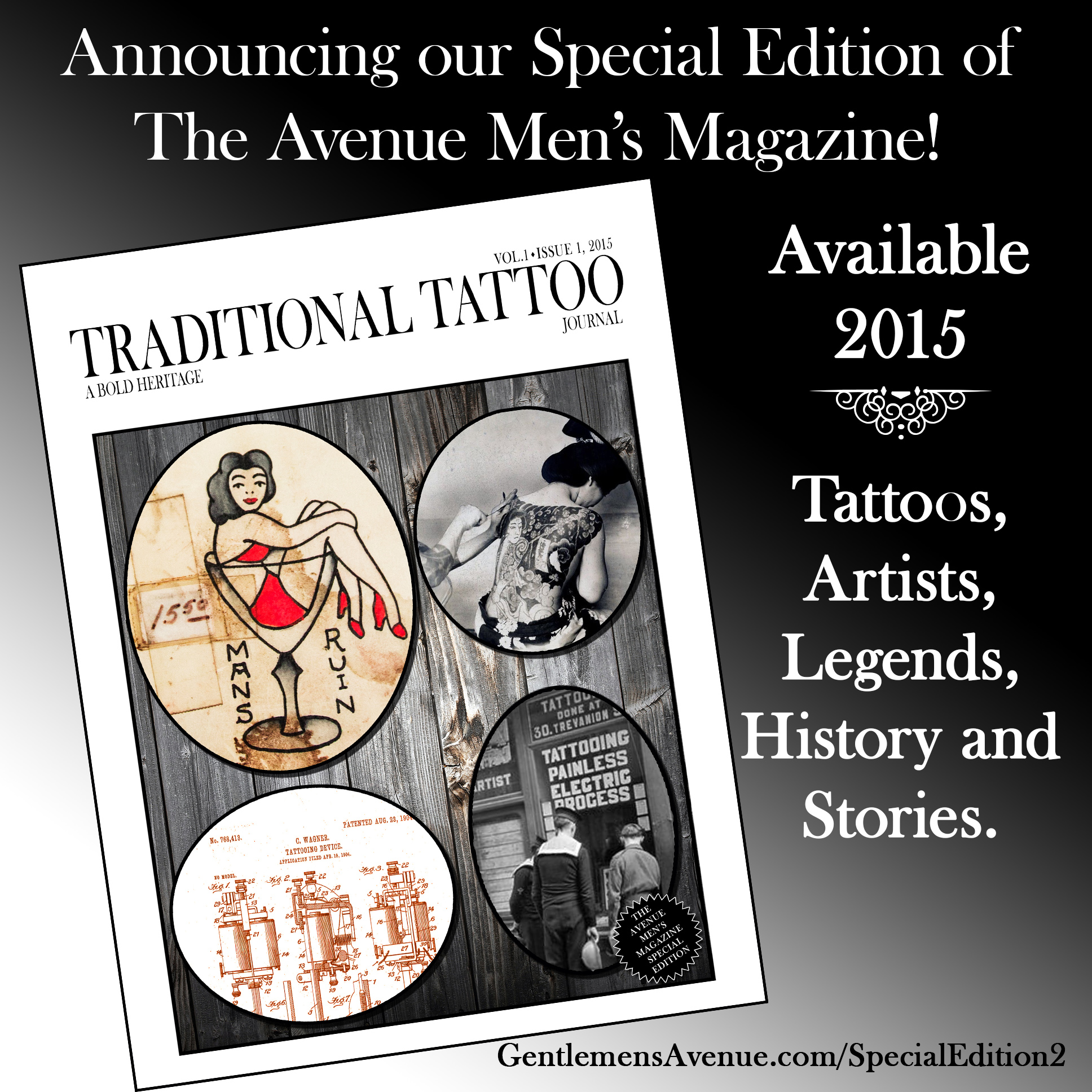 taditional tattoo announcement insta